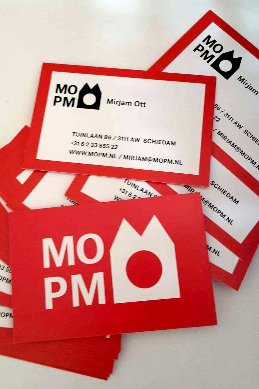 Logo ontwerp MOPM