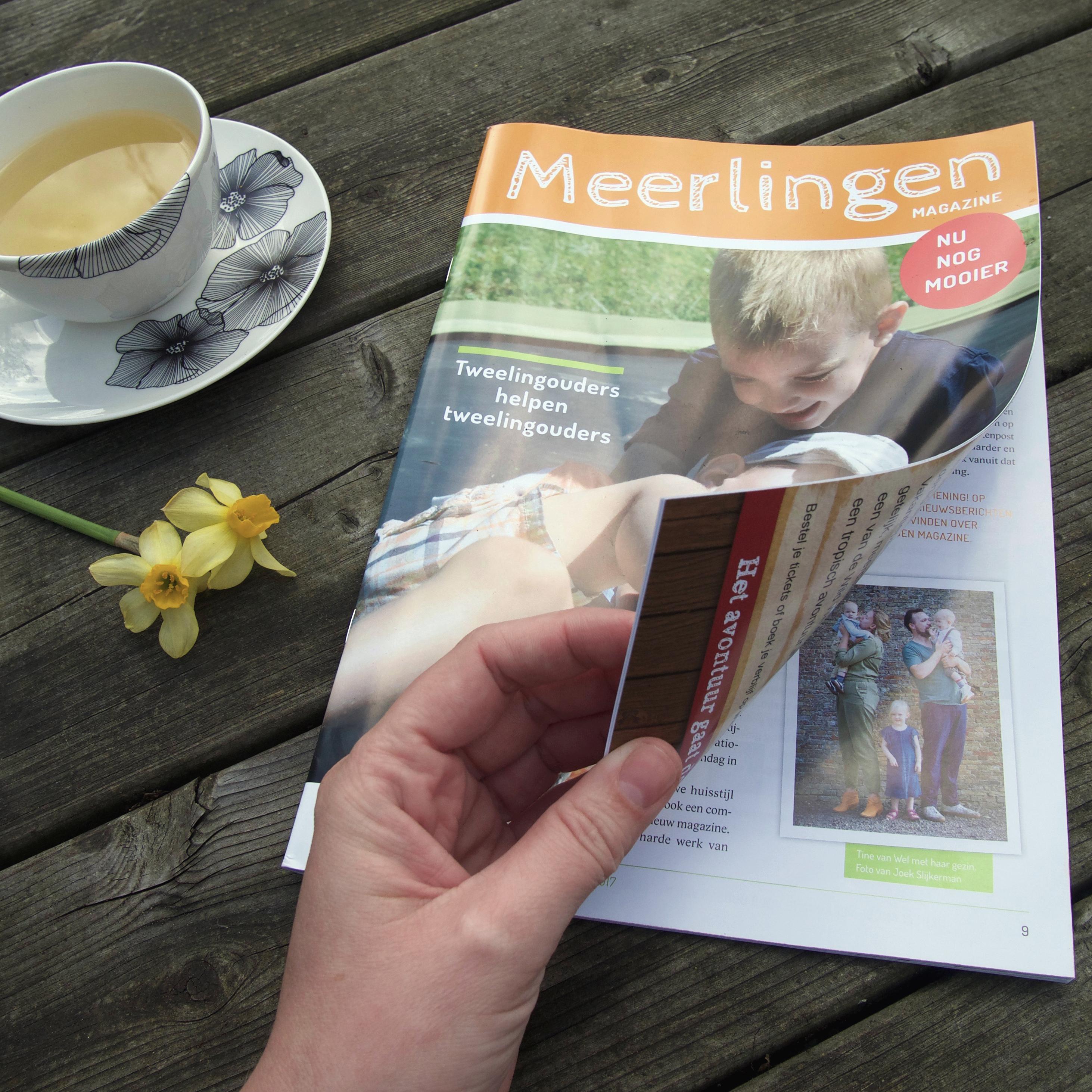 NVOM meerlingenmagazine gedrukt!